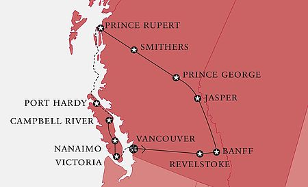 Routing Grand Canadian West
