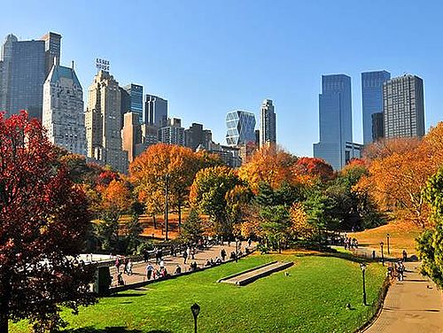 Kreuzfahrt Neuengland Indian Summer New York City Central Park