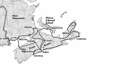 Routing Atlantik Kanada