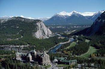 Fairmont in Banff Springs